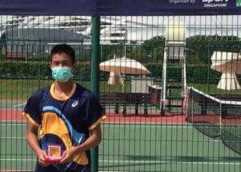 Nathan Barki menangi gelar Singapore ITF Junior Championship