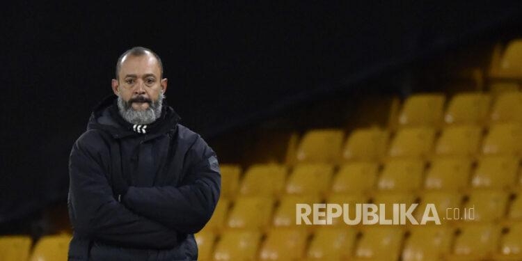 Pelatih Wolverhampton Wanderers (Wolves) Nuno Espirito Santo.