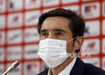 Marcelino Garcia Toral. Pelatih asli Spanyol ini menghadiri konferensi pers selama presentasinya sebagai pelatih kepala baru Athletic Club de Bilbao, di Bilbao, Basque Country, Spanyol, 05 Januari 2021. Toral menandatangani kontrak barunya hingga Juni 2022