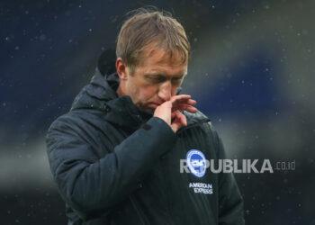 Pelatih Brighton & Hove Albion Graham Potter