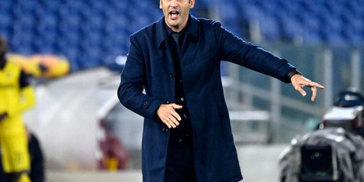Pelatih AS Roma Paulo Fonseca