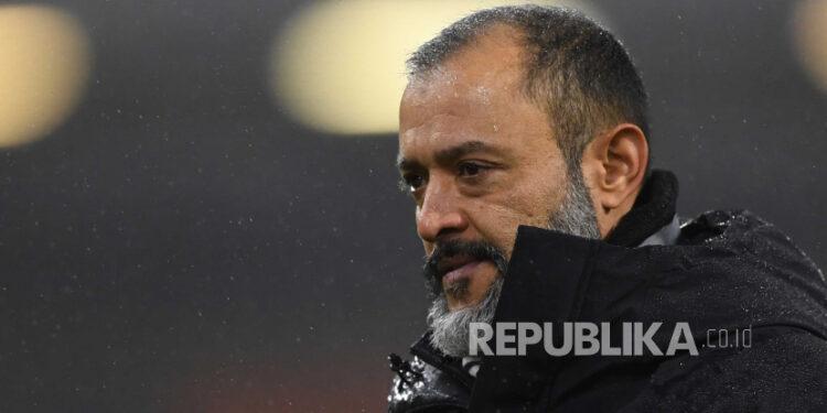 Pelatih kepala Wolverhampton Wanderers (Wolves) Nuno Espirito Santo.
