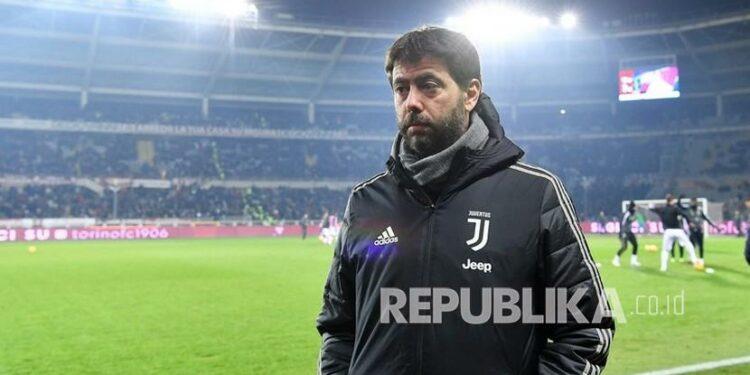 Presiden Juventus Andrea Agnelli