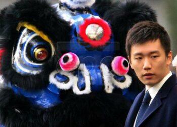 Presiden Inter Milan Steven Zhang