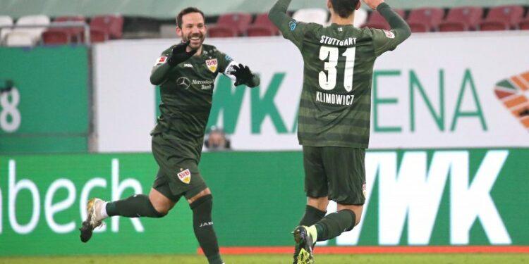 Stuttgart bawa pulang tiga poin penuh dari kandang Augsburg