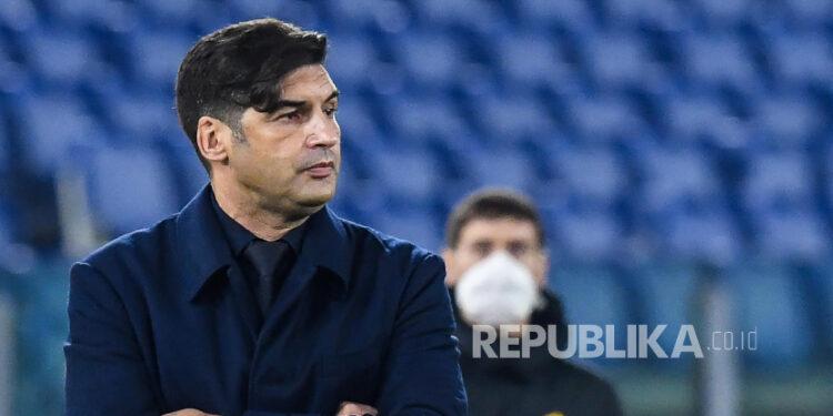 Pelatih AS Roma Paulo Fonseca.