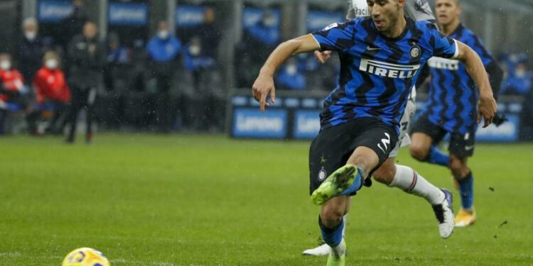 Achraf Hakimi dari Inter Milan