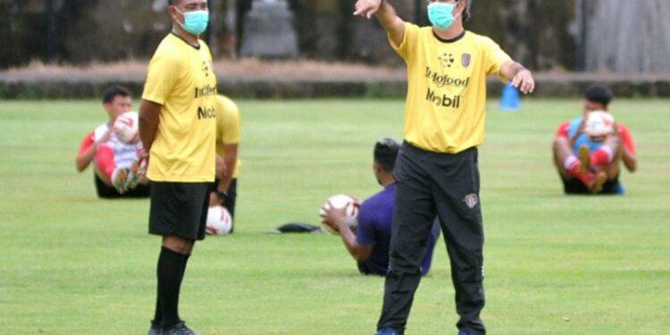 Bali United tak rombak barisan pertahanan