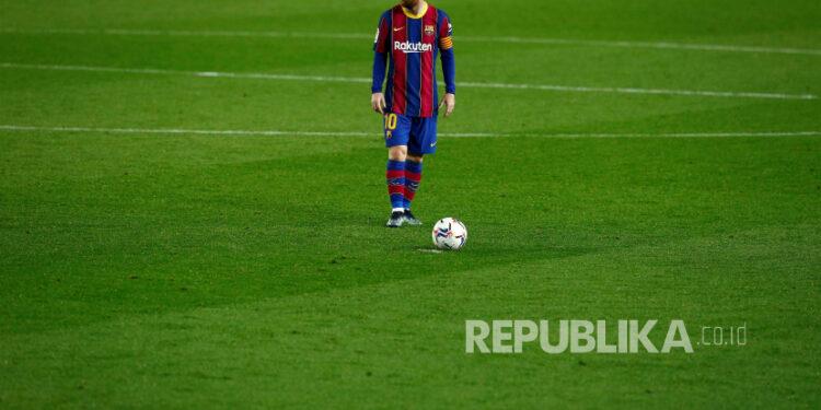 Striker FC Barcelona Lionel Messi.