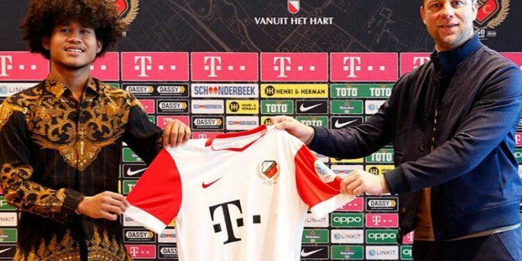 FC Utrecht resmi perkenalkan Bagus Kahfi