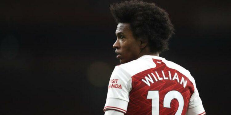 Gelandang Arsenal Willian.