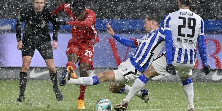 Gol tunggal Coman pastikan raihan tiga poin Bayern di Berlin