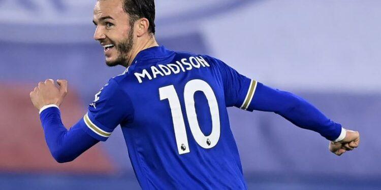 James Maddison dari Leicester