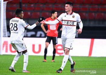 Nice kembali ke jalur kemenangan setelah taklukkan Rennes