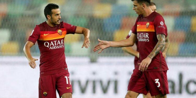 Gelandang AS Roma, Pedro Rodriguez (Kiri),