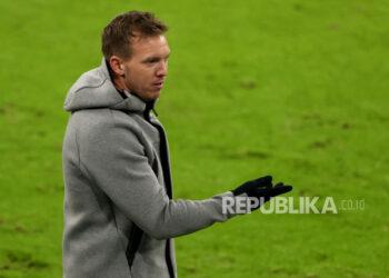 Julian Nagelsmann, head coach of RB Leipzig