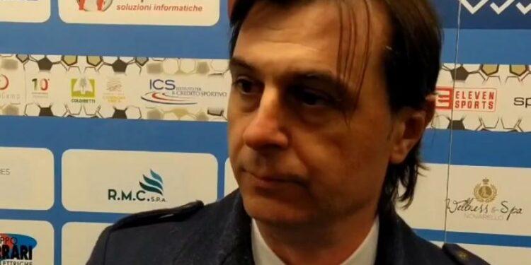 Mantan presiden klub sepak bola Novara, Marcelo Cianci.