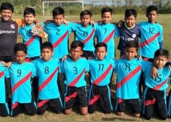 Skuat SSB Barona U-12 Juara Jong Aceh Kids Football Festival
