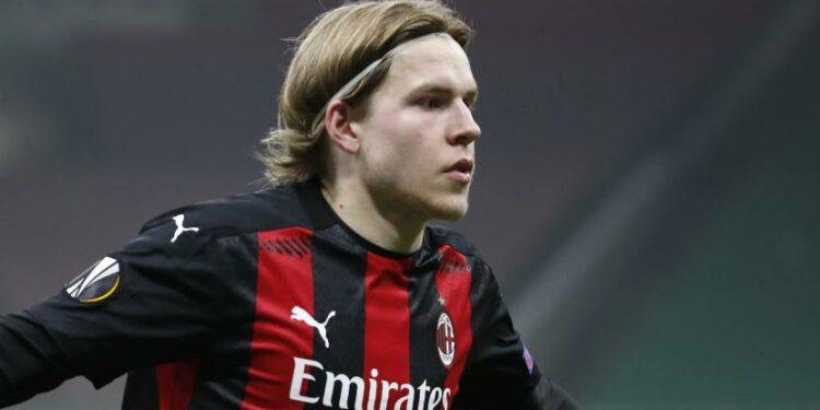 Jens Petter Hauge dari AC Milan