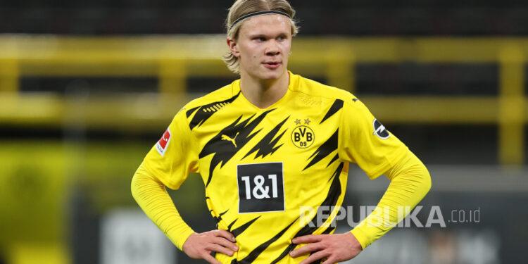 Erling Haaland dari Borussia Dortmund