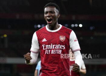 Striker Arsenal Eddie Nketiah.