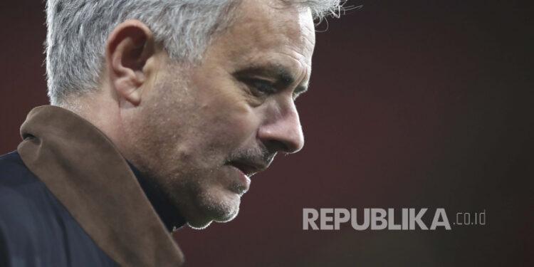 Manajer Tottenham Jose Mourinho.