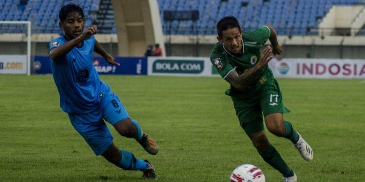 Laga PSS lawan Persela berakhir tanpa gol