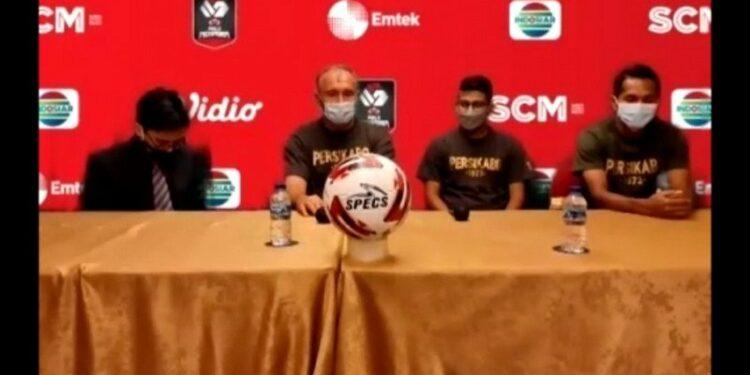 Laga kedua lawan PSIS, Pelatih Persikabo: Mulai nol lagi