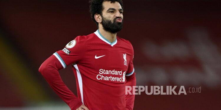 Bintang Liverpool Mohamed Salah.