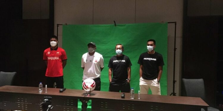 Pelatih: Pemain Madura harus bermain lepas hadapi Persebaya