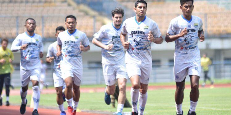 Persib intensif berlatih jelang Piala Menpora