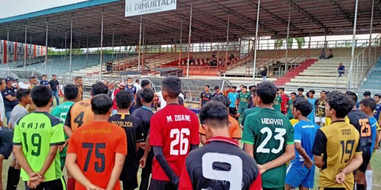 Para calon seleksi Pra-PORA Banda Aceh   Foto Mismail