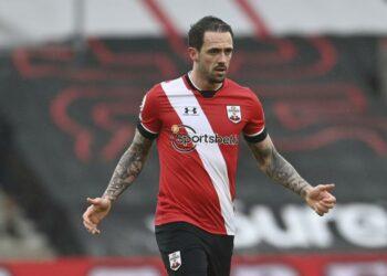 Penyerang Southampton Danny Ings.