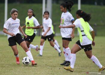 Timnas putri jalani latihan perdana untuk SEA Games 2021
