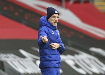 Pelatih Chelsea Thomas Tuchel.