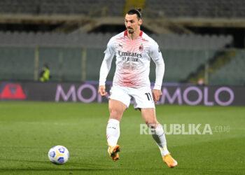 AC Milan forward Zlatan Ibrahimovic.
