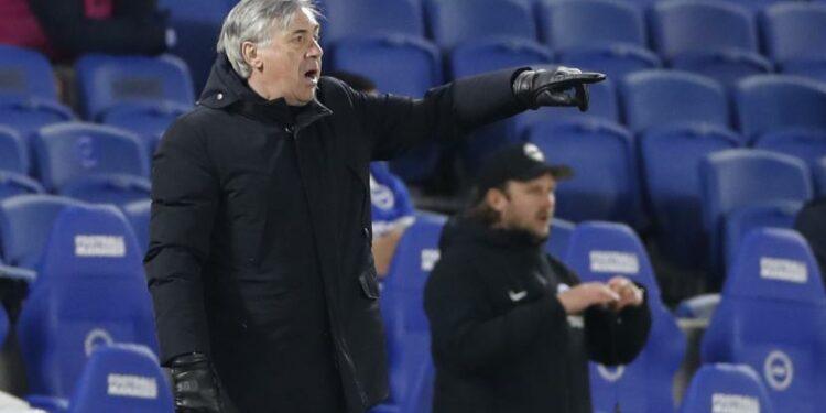 Manajer Everton Carlo Ancelotti