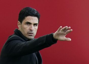Manajer Arsenal Mikel Arteta