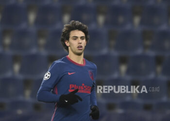 Joao Felix dari Atletico Madrid.