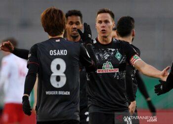 Bremen tantang Leipzig dalam semifinal DFB Pokal