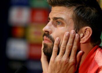 Bek Barcelona Gerard Pique.