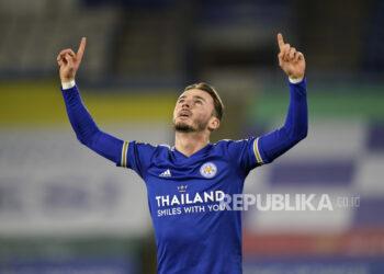 James Maddison dari Leicester City.