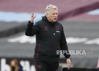 Manajer West Ham David Moyes.