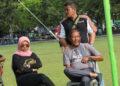 Kustiono bersama tim medis dalam sebuah even di Banda Aceh | Foto Istimewa