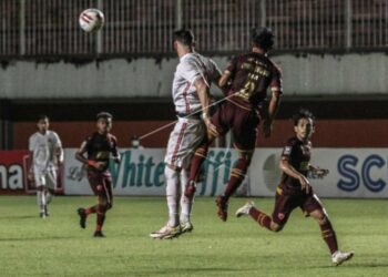 Laga Persija Jakarta kontra PSM Makassar berakhir imbang 0-0