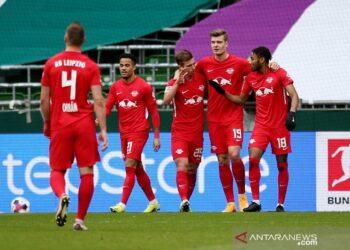 Leipzig pangkas jarak dari puncak seusai gebuk Bremen 4-1