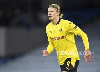 Erling Haaland dari Borussia Dortmund.