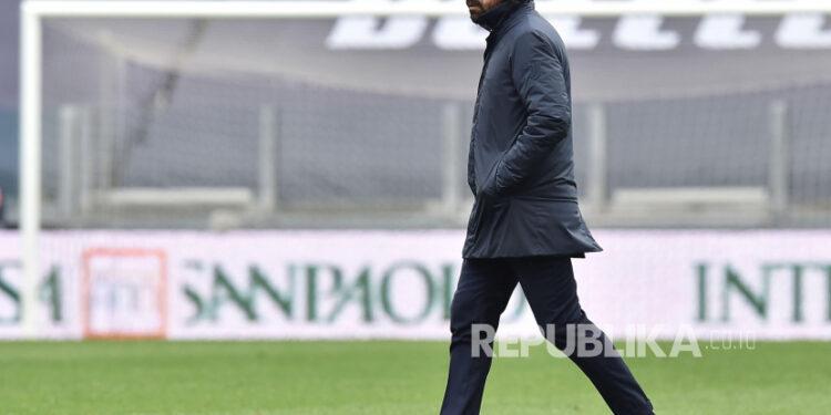 Pelatih kepala Juventus Andrea Pirlo.