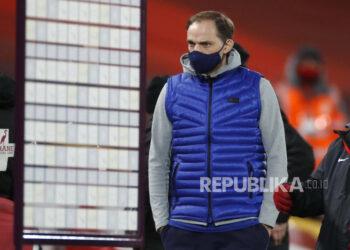 Pelatih kepala Chelsea Thomas Tuchel.