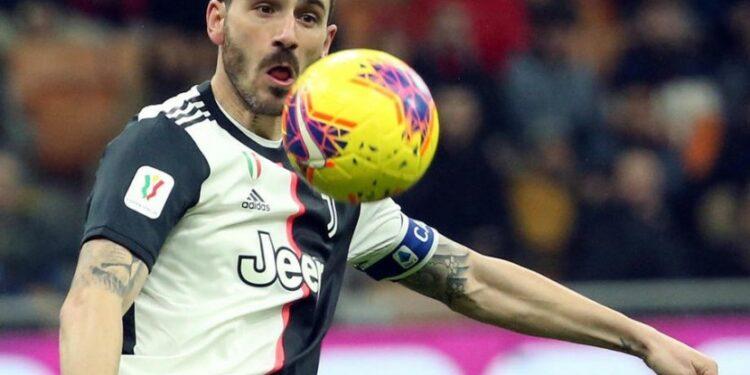 Bek Juventus Leonardo Bonucci.